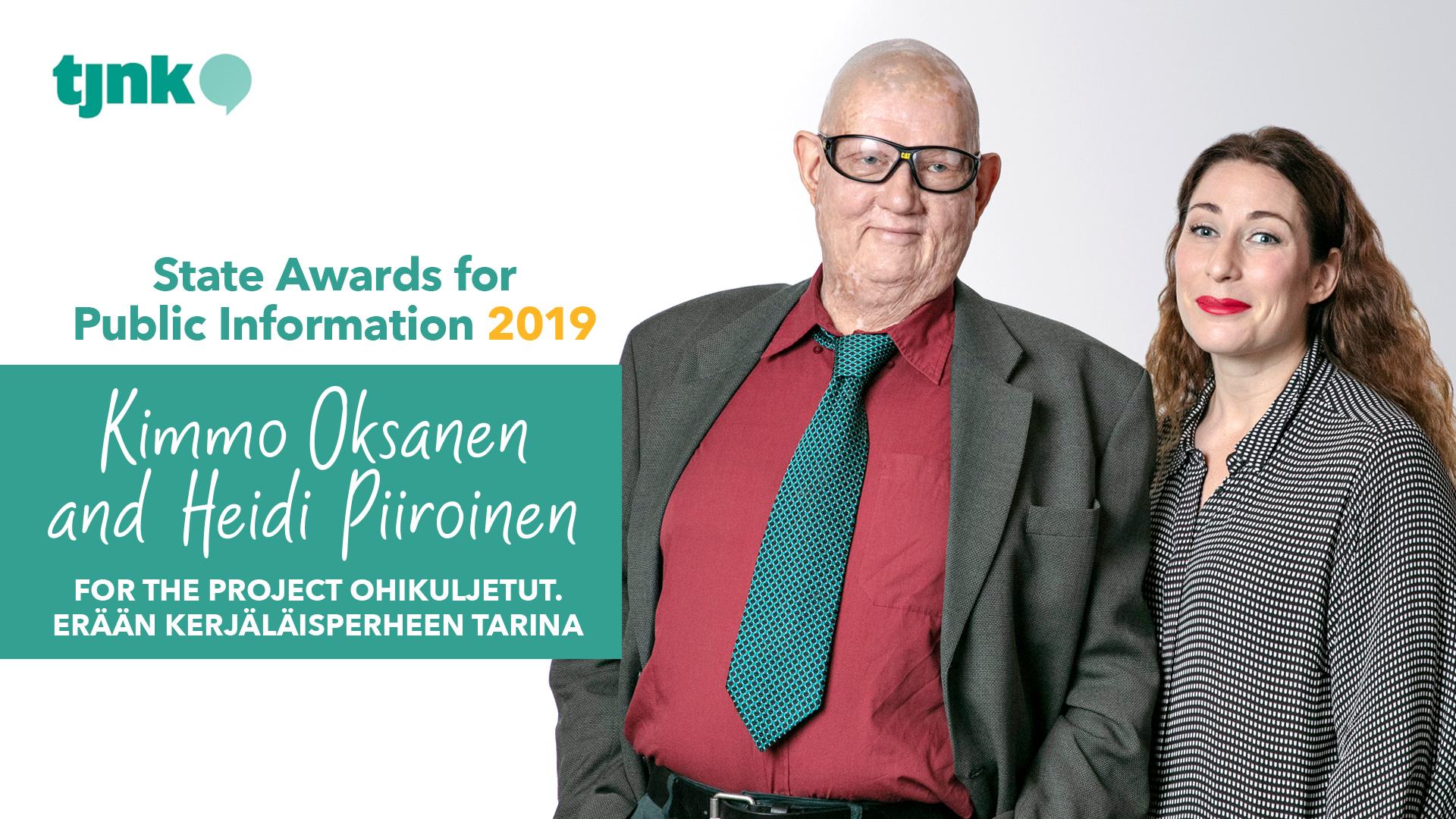 Kimmo Oksanen and Heidi Piiroinen